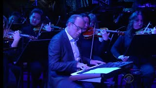 """Hans Zimmer performs the """"Planet Earth II"""" score on The Late Show with Stephen Colbert"""