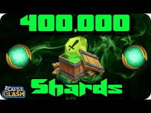Spending 400,000 Shards!!! Castle Clash