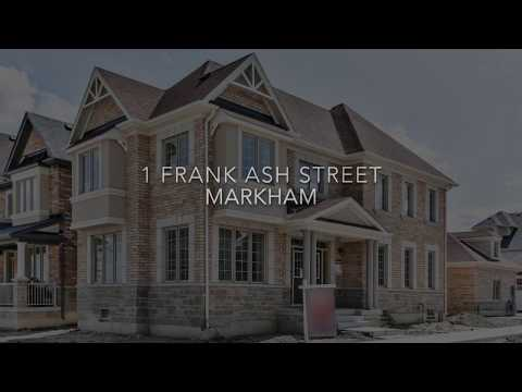 1 Frank Ash Street Markham Virtual Tour