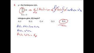 İNTEGRAL TEST 2