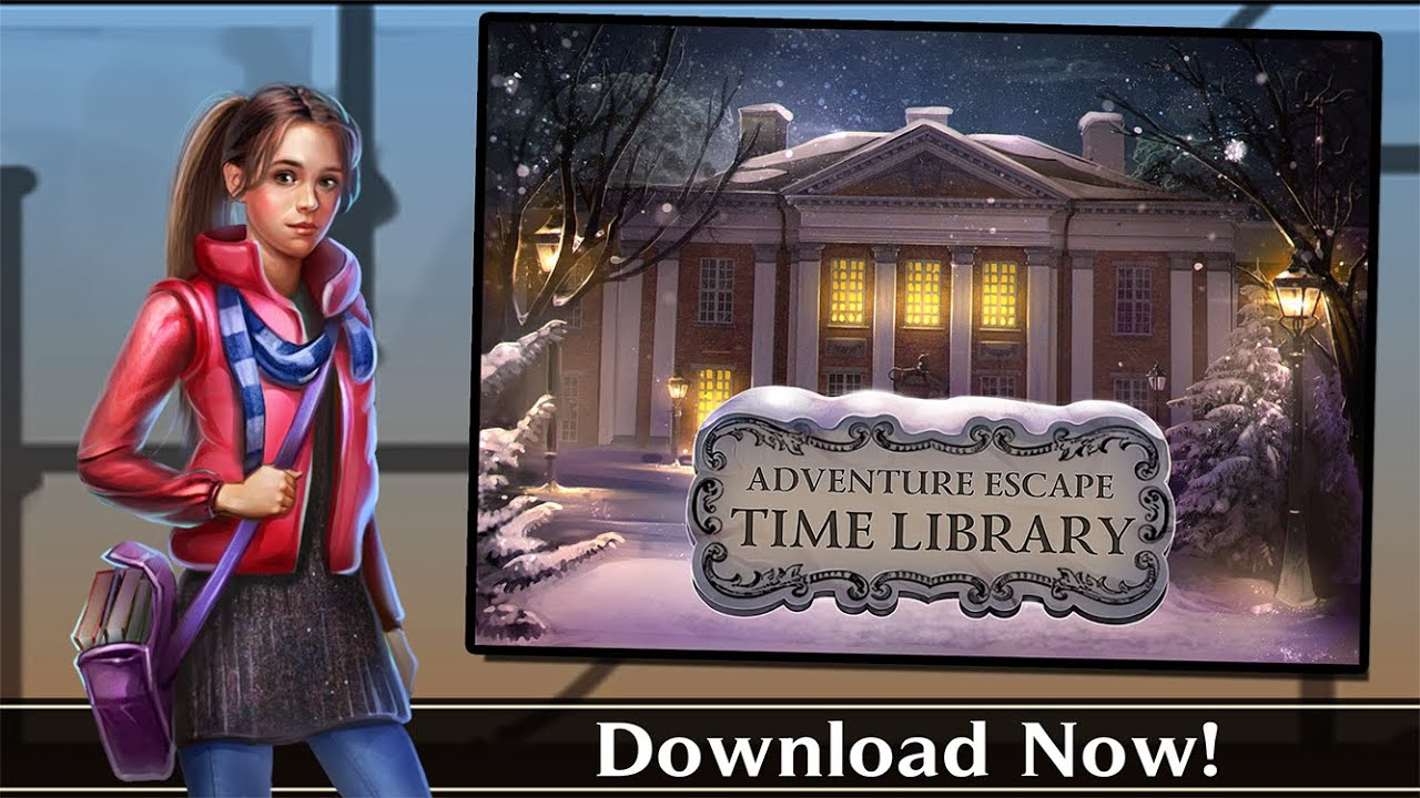 Adventure Escape: Time Library Trailer