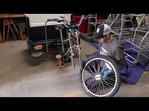 front wheel for pedicab