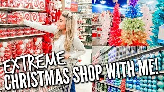 🎄EXTREME!! CHRISTMAS SHOP WITH ME 2019 | AT HOME AND HOBBY LOBBY | DECORATE WITH ME | HickmanVlogs