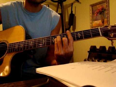 Joel Hanson and Sara Groves - Traveling Light - Acoustic Guitar Lesson