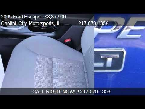 2005 Ford Escape XLT 2WD 2.3L - for sale in Springfield, IL