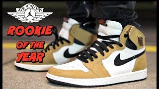 0355236e91d127 jordan 1 rookie of the year on foot - Clip Ready