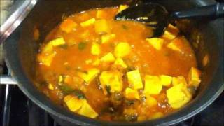 how to make tofu and potato curry