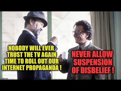 🙀 WAG THE DOG 2.0 🙀 Never Allow Suspension Of Disbelief Time For A Remake Of Wag The Dog ❗