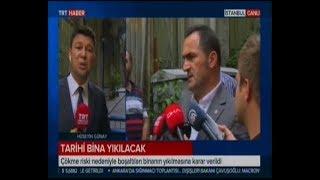 Beyoğlu Belediyesi Mühürlenen Bina Yıkılacak Trt Haber