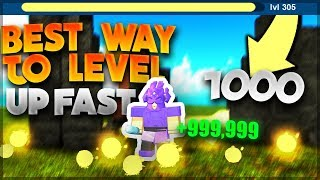*NEW* BEST AND FASTEST WAY TO LEVEL UP IN BOOGA BOOGA [Tutorial] Roblox: Booga Booga