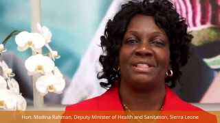 Sierra Leone's Deputy Health Minister: Thanks to All Who've Supported Ebola Relief Efforts
