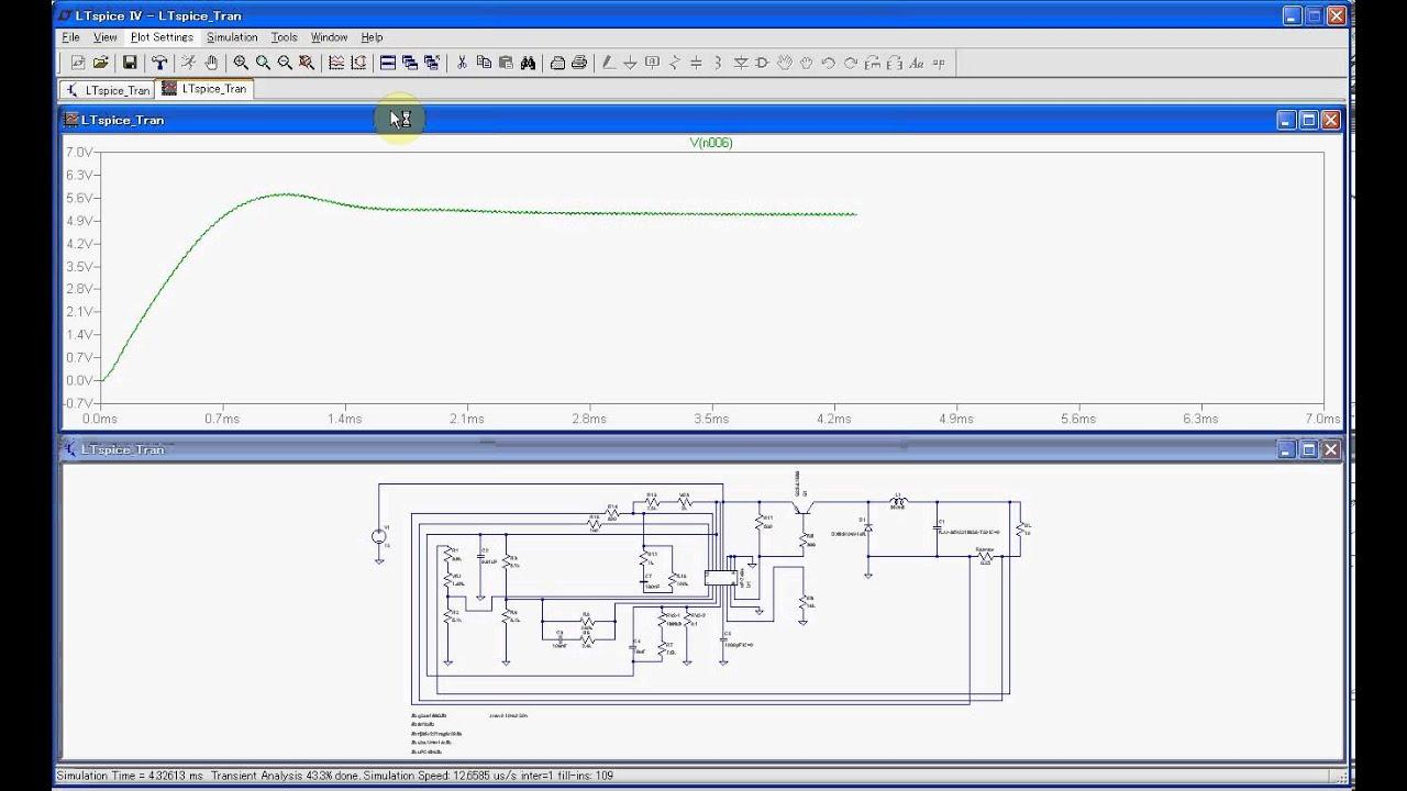 uPC494 Power supply Simulation using LTspice by Tsuyoshi Horigome