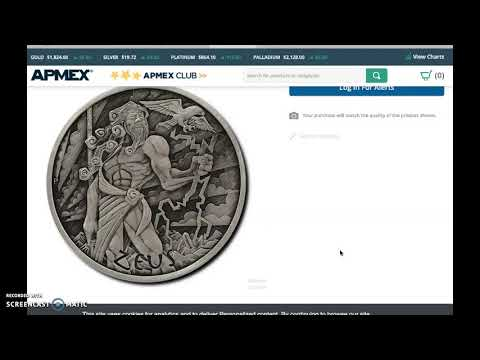 ALERT: Hot Coin, Gods Of Olympus On Sale Today.  Apmex, LPM, Bold, The Coin Shoppe.  #silverstacking