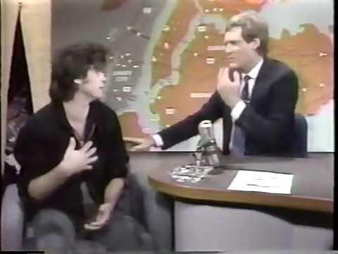 """John Mellencamp 1985 Late Night TV """"Small Town,"""" """"Pink Houses"""" and Interview"""