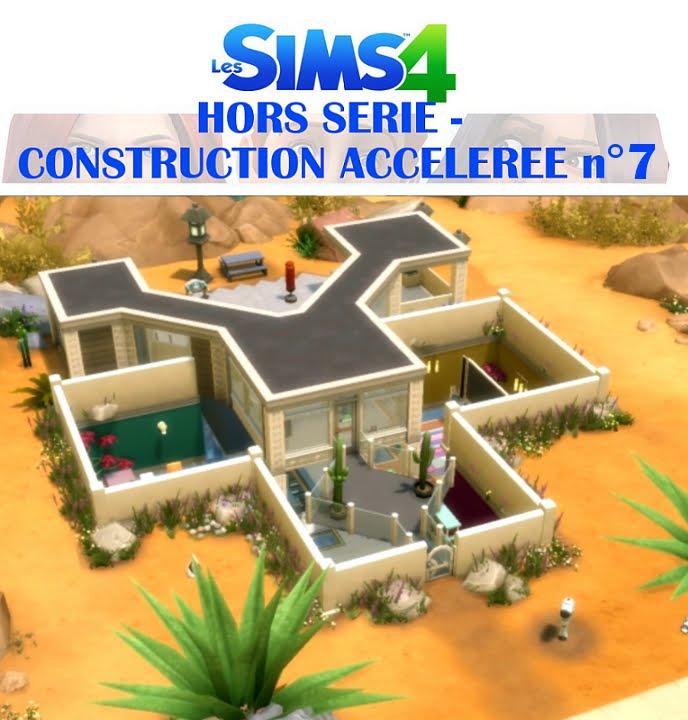 Les sims 4 hors s rie construction acc l r e n 7 la for Avocat construction maison