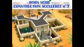 Les Sims 4 | Hors série | Construction accélérée n°7 - La Maison de mes Aliens