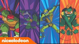 Эволюция Черепашек-ниндзя | Рисуем героев | Nickelodeon Россия