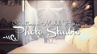 Making A Model Horse Photo Studio ⋮ how to