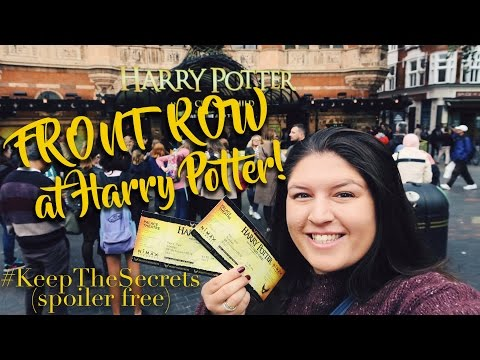 Harry Potter and the Cursed Child ⚡️ FRONT ROW Review