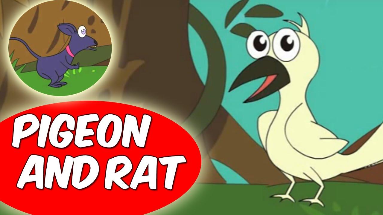 Pigeon And Rat (कबूतर और चूहा) – Short Moral Stories for Kids in Hindi
