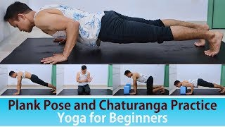 Plank Pose and Chaturanga for Beginners