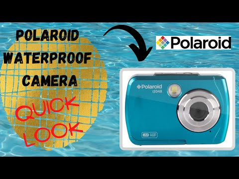 Polaroid ISO48 Waterproof Camera | LITERALLY Waterproof And ONLY $39!
