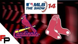 MLB 14 The Show - PS3 Gameplay - St  Louis Cardinals vs. Boston Red Sox