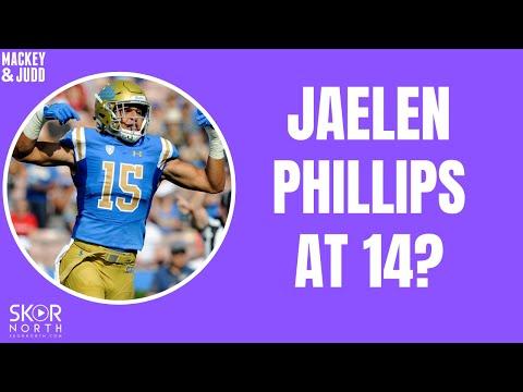 Minnesota Vikings mock draft: DE Jaelan Phillips