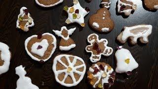 Відео для дітей. З Юліанкою печемо та розмальовуємо новорічно-різдвяні пряники.