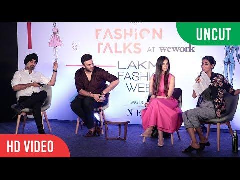 Fashion Talks With Nishika Lulla, Jaspreet Chandok And Ekta Rajani | Lakme Fashion Week 2017