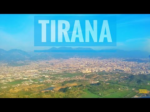 Landing in Tirana, Albania