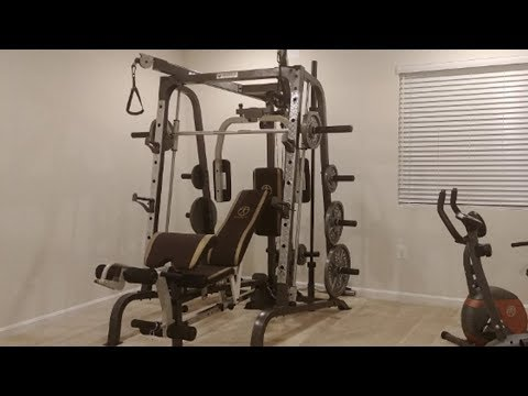 Marcy Smith Cage Workout Machine Review 2019