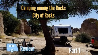 City of Rocks Stąte Park, New Mexico - Camping and Campground Review