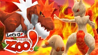 Let's Go Pixelmon Zoo ♦ MEWTWO STRIKES BACK! (Minecraft Pokemon Roleplay Ep 7)