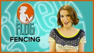 Felicia Day's The Flog! FENCING with Osric Chau