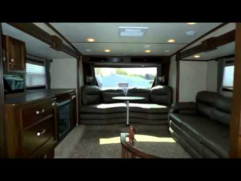 2013 Rushmore by Crossroads Lincoln - RF39LN Front Living - front living room fifth wheel