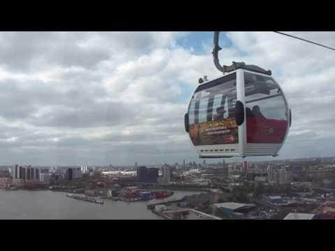 London cable car vlog