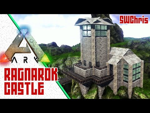Cool ARK Base Design :: Exploring ARK Ragnarok Sponsored Mod :: Awesome ARK Base Locations!