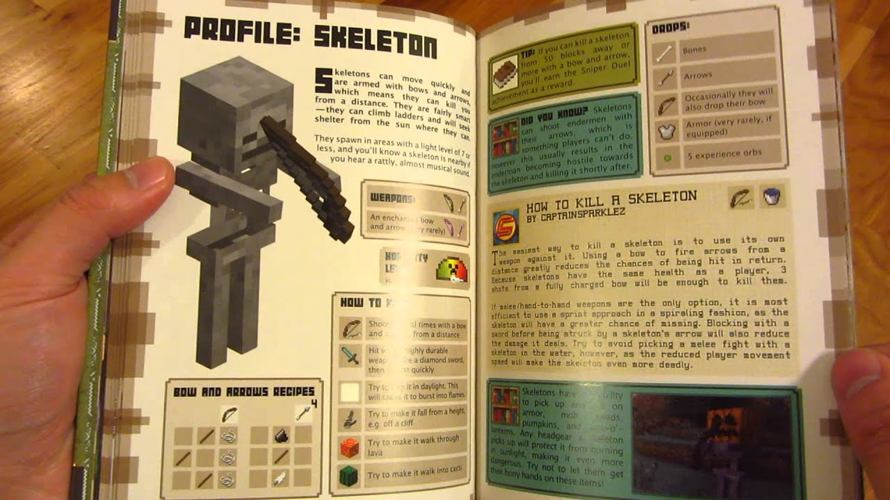 Minecraft Essential Handbook An Official Mojang Book