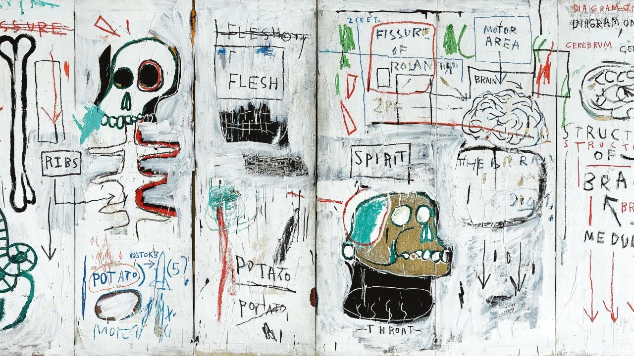 The Brilliance and Symbolism of Basquiat's Flesh and Spirit