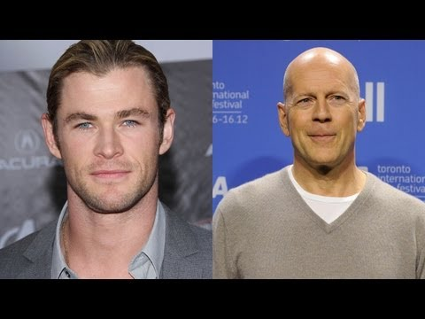 Chris Hemsworth & Bruce Willis Teaming For 'American Assassin'