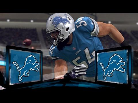 Madden NFL 17 Detroit Lions Franchise- Year 2 Offseason (Live Stream)