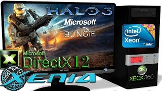 XENIA DX12 [Xbox 360] - Halo 3 [Gameplay] DirectX 12 api #2
