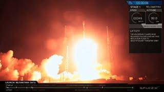 Primera sonda lunar israelí comenzó su viaje