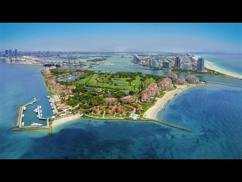 Posh Island Near Miami Beach Mounts a Comeback
