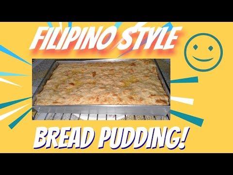 How To Make Bread Pudding I Easy Old Fashioned Recipe I Filipino Style I