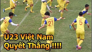 Vũ Như Thành đi xem Quang Hải , Bùi Tiến Dũng , Trần Đình Trọng U23 Việt Nam tập luyện đấu Thái Lan