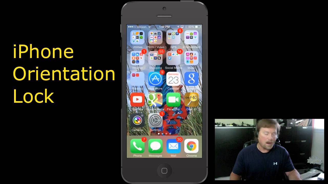 iphone orientation lock iphone orientation lock do this if don t play in 8069
