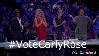 Carly Rose Sonenclar Ranks Number One On Xfactor