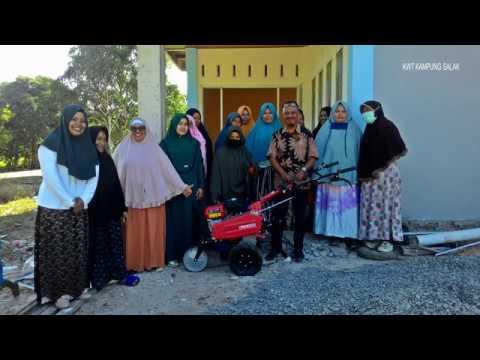 Bantuan Aspirasi Dr. Ari Yusnita | Hand Tractor | Kultivator KWT Kampung Salak Kota Tarakan